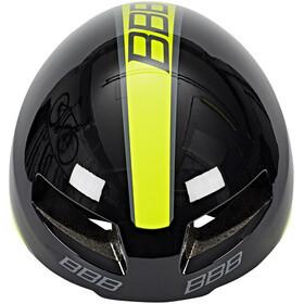 BBB Tithon BHE-08 Helmet schwarz gl/neon gelb